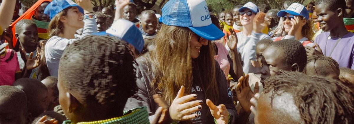 Voluntaria de CADENA en la misión a Kenia