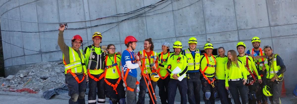 El Go Team respondió en el sismo del 19 de septiembre