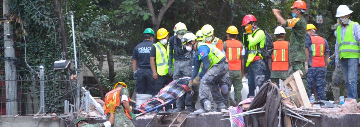 Reconstrucción tras el sismo del 19 de septiembre