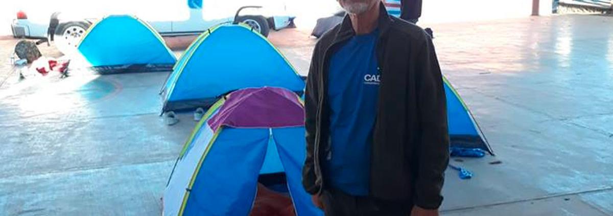 Yehuda Bar Shalom in the CADENA Camp